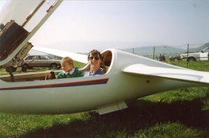 Challes aéro ASW20 - 5-1990