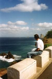 Canaries - côte Nord Teneriffe - nov 1996