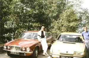 Christophe & moi - Grésine 1988