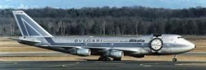 B747-243 Alitalia Bulgari