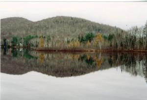 Canada 1992 - lac Tremblant2