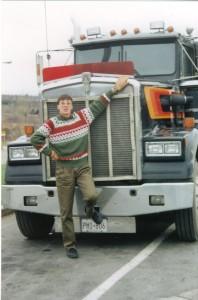 Canada 1992 - MB devant un KW dans les Laurentides