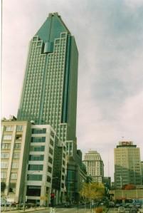 Canada 1992 - Montréal - 1000 de la Gauchetière (avec patinoire)