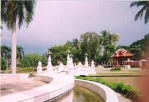 Chiang Mai jardin public vieille cité Sud 1999