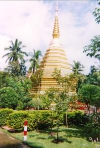 Chiang Rai - chedi, wat Phra Keo - 1999