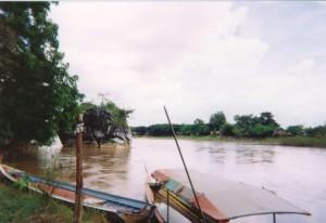 Chiang Rai - rivière au NW - 1999