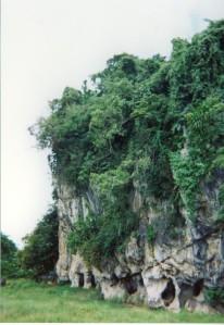 Chiang Rai - rocher calcaire - 1999