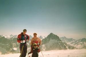 MB,Maman, Maude - 2Alpes 1995
