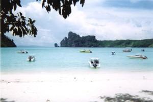 Phuket PhiPhi Don plage Lo Dalum 1999