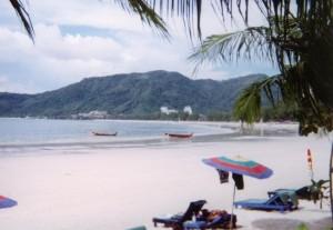 Phuket plage Patong 1999