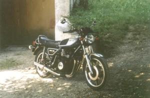 Yamaha XS 750E - Challes - 1986